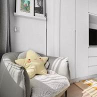 125㎡北欧原木3室2厅,打造慵懒舒适的惬意生活